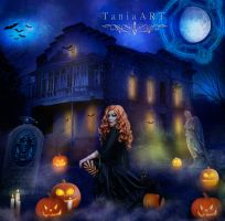 Time of Magic Spells by TaniaART
