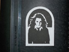 Hermione Bookmark by BlitzKraft