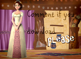 MMD Marriage Rapunzel Download by Katsura-chan72