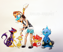 Pokemon White Team by Spilled-Sunlight