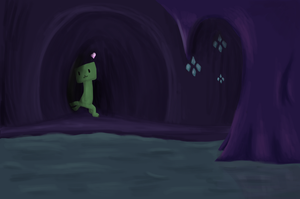 Creeper just wants a hug by PaperLemon