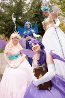 MLP:FiM - Rulers of Equestria by Eli-Cosplay