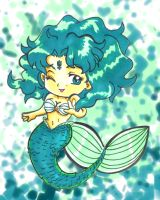 Sailor Neptune Mermaid by kwessels
