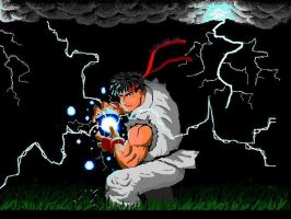 Ryu by Clivelee
