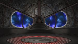 Shao Kahn's Throne Room - Empty Version by molim