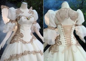 Tsubasa Chronicles Bridal Gown by Firefly-Path