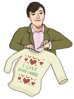 Stephen Fry Knitting by tomatorama