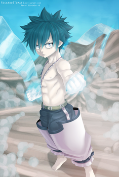 Gray fullbuster - Ice Shield! by Ric9Duran