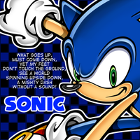 Sonic Artwork 1 by OrangeCoatSale