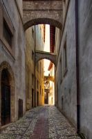 Streets of Spoleto by CitizenFresh