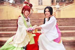 [MAGI] Kou Princesses by xxEtsuko
