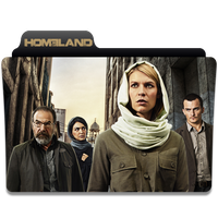 Homeland Season 4 Icon Folder by florianques