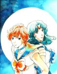 Uranus and Neptune by Toffi-Fee
