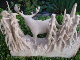 moose 1e by woodcarve