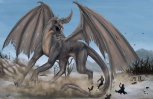 Dragon of Drought by iBralui