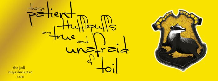 Timeline Cover: Hufflepuff by The-Jedi-Ninja
