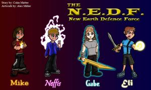 The Heroes of the N.E.D.F. by MFM-comics