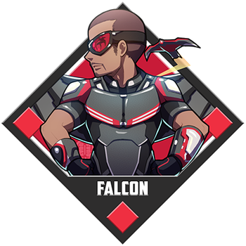 Marvel - Falcon by Quas-quas