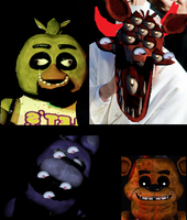 Five Nights At Freddys While Drunk by ArjenTeenageGirl