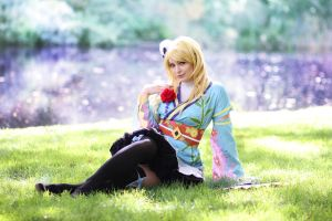 Eli Ayase Angelic Angel by AnnaLynnCosplay