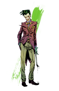 Joker Commission Sample by anjinanhut