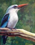 'Blue Kingfisher' by Gallery-of-Art