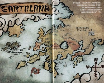 Earthland Map by Wolfy02neo
