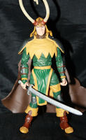 Onslaught Marvel Legends Loki Figure by SpaceRanger108
