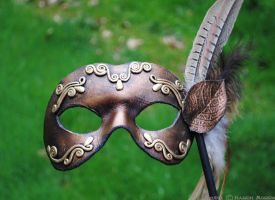masquerade mask by savagedryad