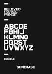 BELOVED: Typeface by woweek