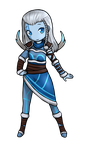 SMITE: Skadi chibi (For collaboration) by TheCoconutTurtle