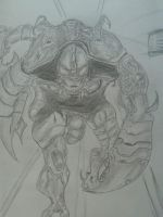 Scorpion Sketch by Ghostdogcs
