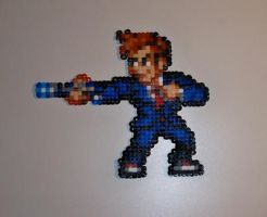 Doctor who - perler beads by AngelLale87