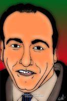 James Gandolfini... Art Work by arihoff