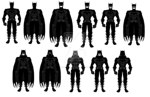 Batman Redesigns by SplendorEnt
