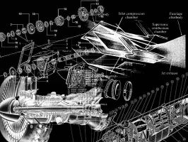 Random Engine Schematics by GreySkwerl