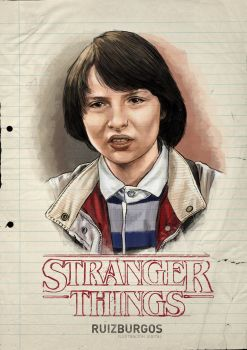 STRANGER THINGS - MIKE by RUIZBURGOS