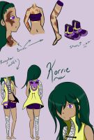 Korrie My Pokemon OC by Jocyhope