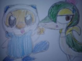 The Scalchop and Dr. Snivy by MomokoTuHarumaki