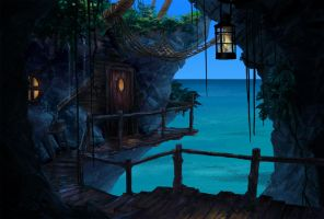 Tropical Hideout by Phill-Art