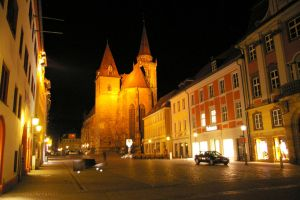Ansbach by night by Mittelfranke