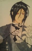 Sebastian  michaelis by Kuro-Of-the-Light