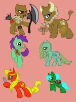 My Little Horde Ponies by Naur
