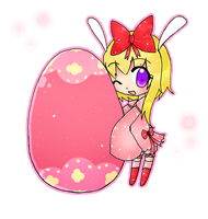 happy easter by hayami-chan587