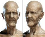Old man by mojette