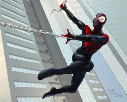 spiderman *miles morales by Shane-D-Solomon