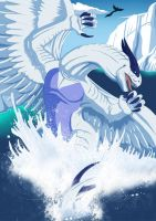 Lugia by Essence-Of-Rapture