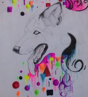 Fail Wolf abstract. by VanicFox