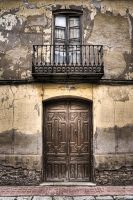 Puerta y Balcon by SuperStar-Stock