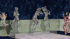 Collection of Silver Maidens by Sanders-99